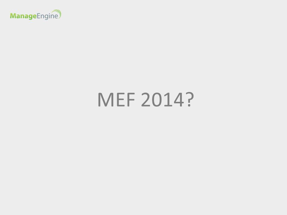 MEF 2014?