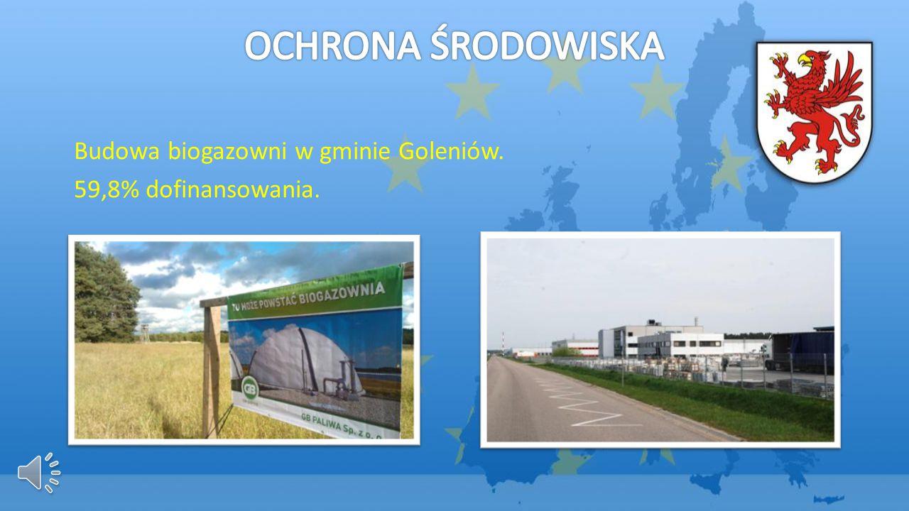 Budowa biogazowni w gminie Goleniów. 59,8% dofinansowania.