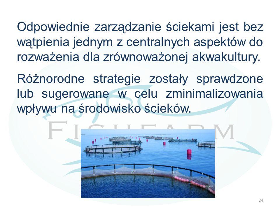 Odpowiednie zarządzanie ściekami jest bez wątpienia jednym z centralnych aspektów do rozważenia dla zrównoważonej akwakultury.