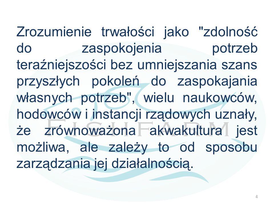 Dlaczego akwakultury nie uznaje się za zrównoważoną działalność? 5