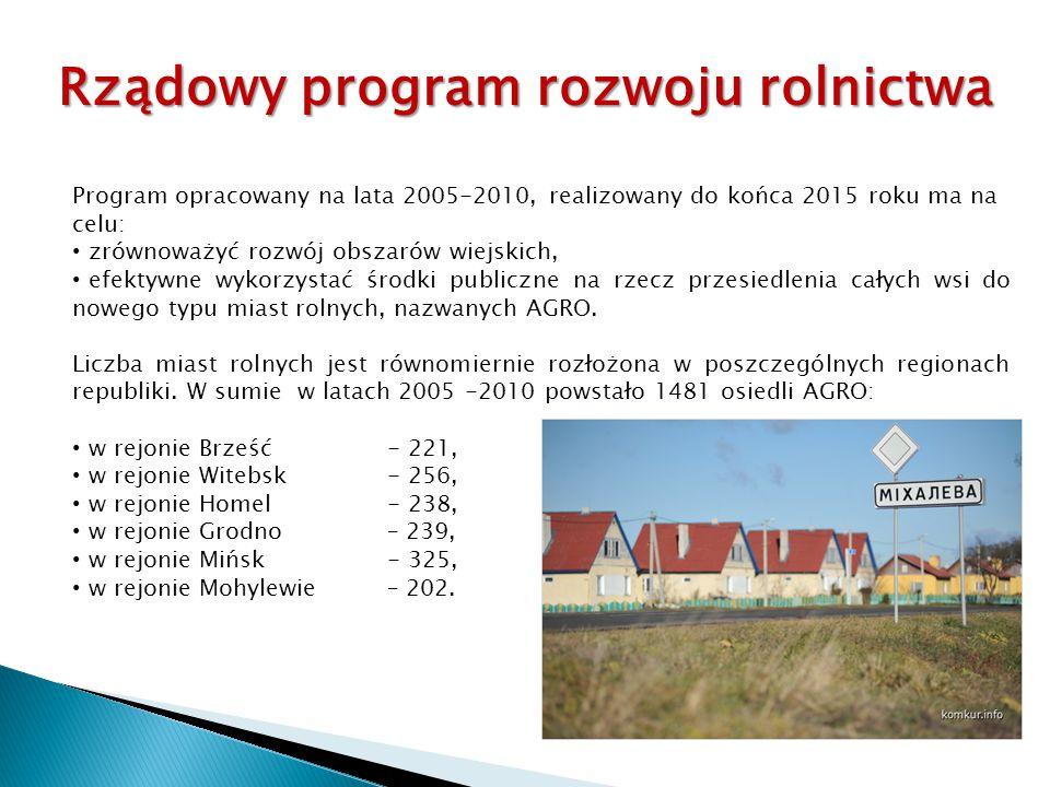 Program opracowany na lata 2005-2010, realizowany do końca 2015 roku ma na celu: zrównoważyć rozwój obszarów wiejskich, efektywne wykorzystać środki p