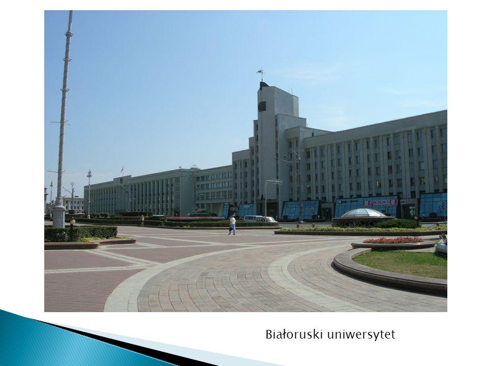 Białoruski uniwersytet
