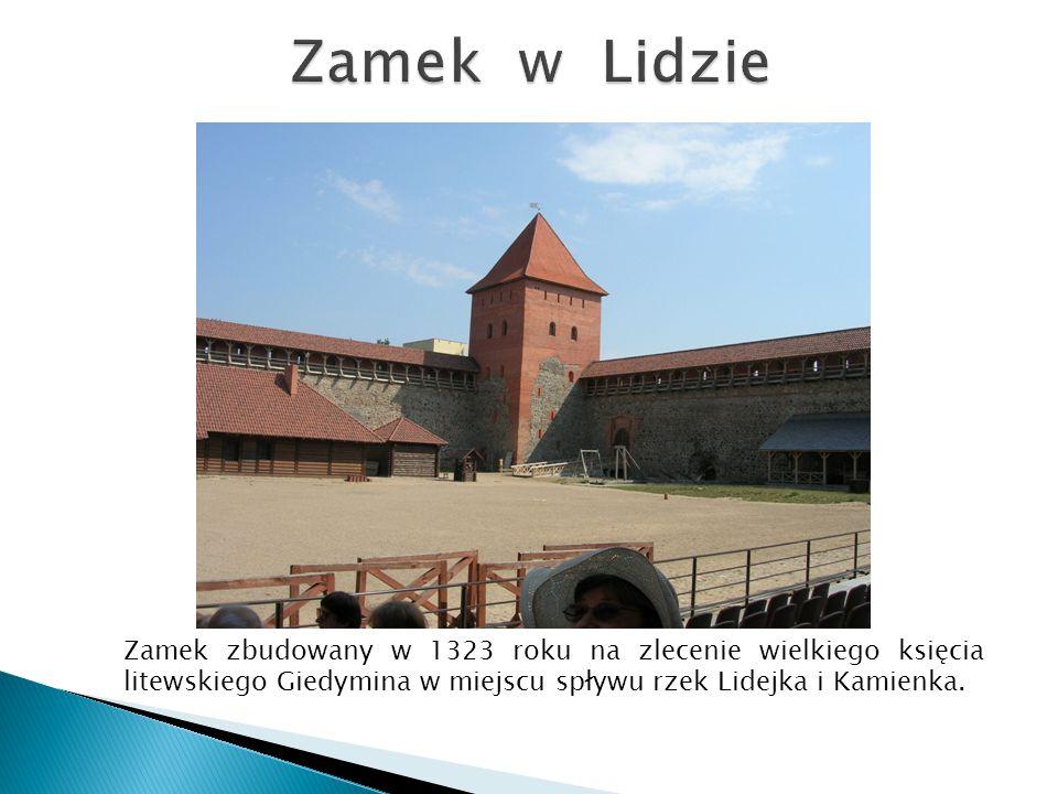 Zamek zbudowany w 1323 roku na zlecenie wielkiego księcia litewskiego Giedymina w miejscu spływu rzek Lidejka i Kamienka.