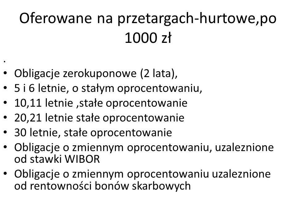 Oferowane na przetargach-hurtowe,po 1000 zł.