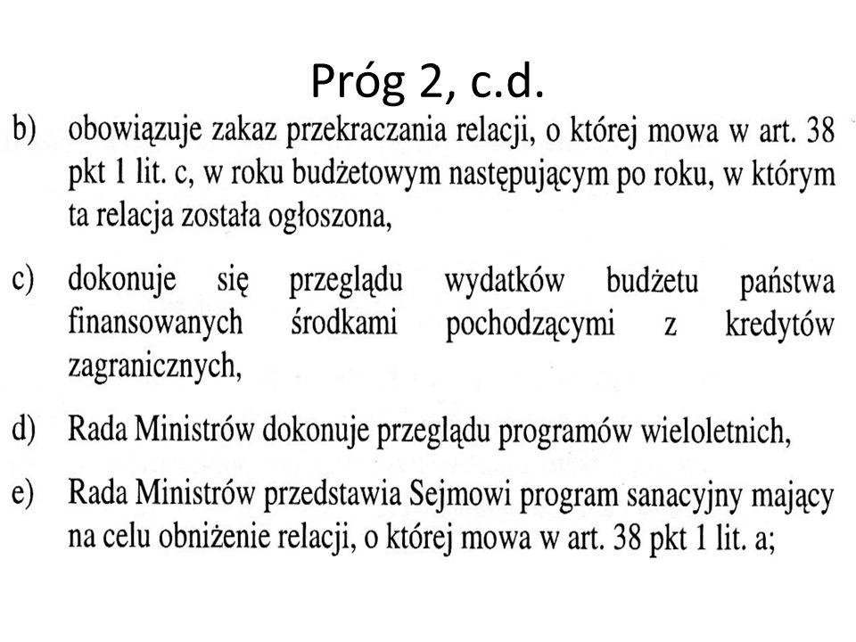 Próg 2, c.d.