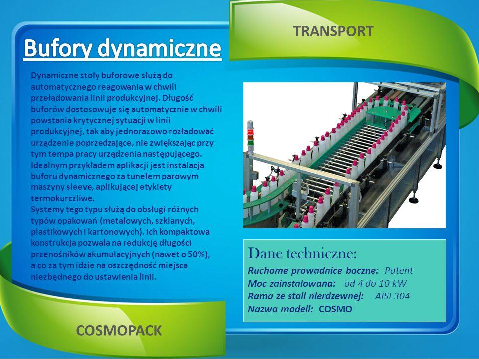 Innowacyjne maszyny orientujące zostały zaprojektowane do rozpoznania poprawności kierunku transportu opakowań niesymetrycznych.