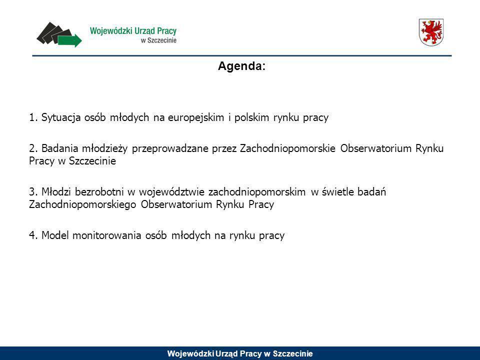 Wojewódzki Urząd Pracy w Szczecinie Zharmonizowana stopa bezrobocia wg EUROSTAT – dane na koniec sierpnia 2014 r.