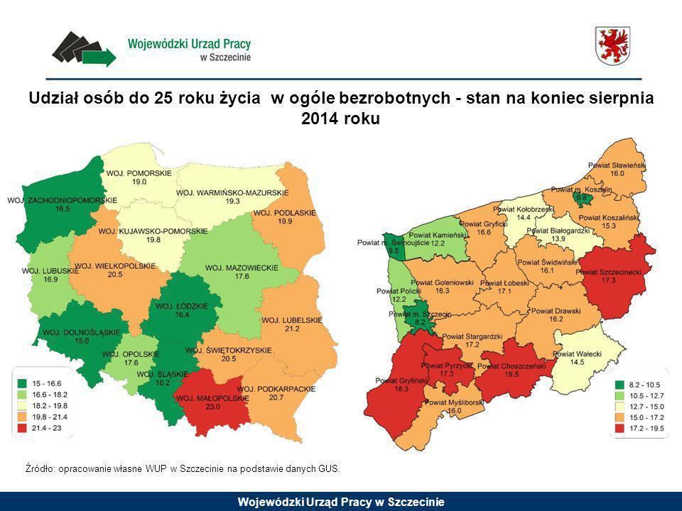 Wojewódzki Urząd Pracy w Szczecinie Prognoza ludności w wieku przedprodukcyjnym (0-17 lat) - lata 2014-2050 w woj.