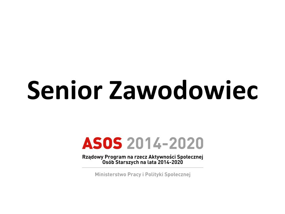 Senior Zawodowiec