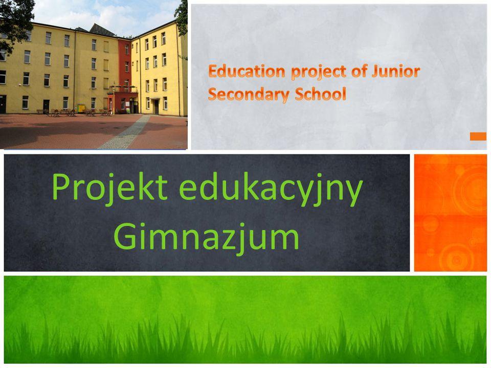 Projekt edukacyjny Gimnazjum