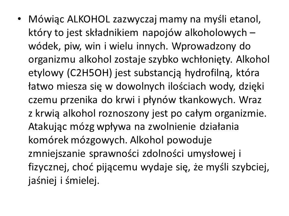 W latach siedemdziesiątych na etykiecie duńskiej wódki pojawił się następujący napis: Dawka śmiertelna - 4,5 promila alkoholu we krwi.