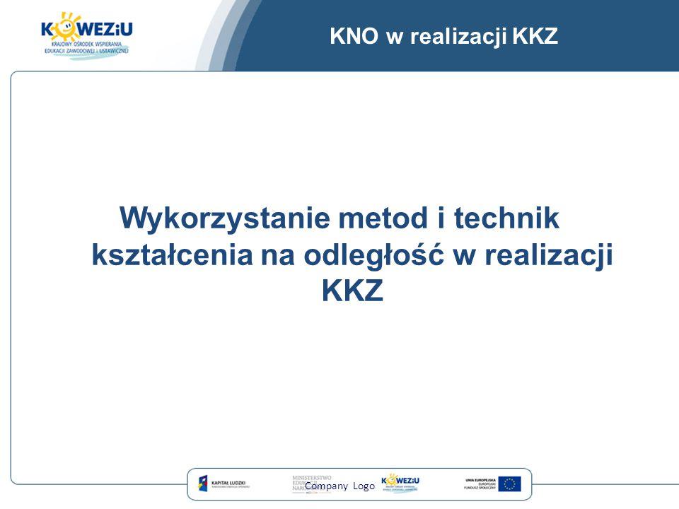 KNO w realizacji KKZ Wykorzystanie metod i technik kształcenia na odległość w realizacji KKZ Company Logo