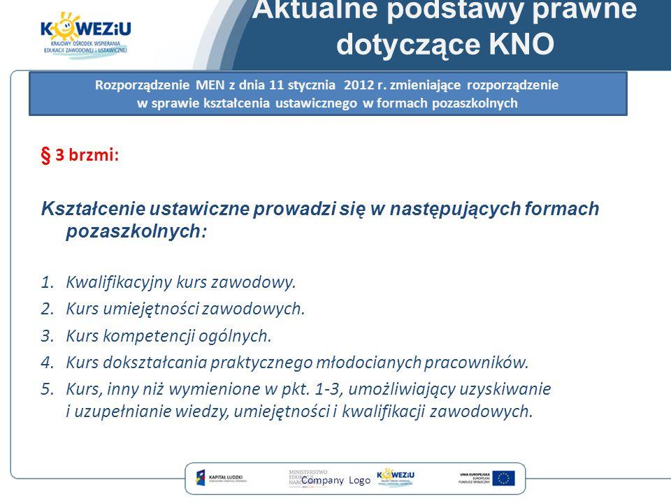 Aktualne podstawy prawne dotyczące KNO art.