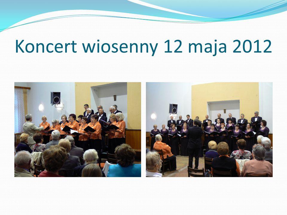 Koncert wiosenny 12 maja 2012