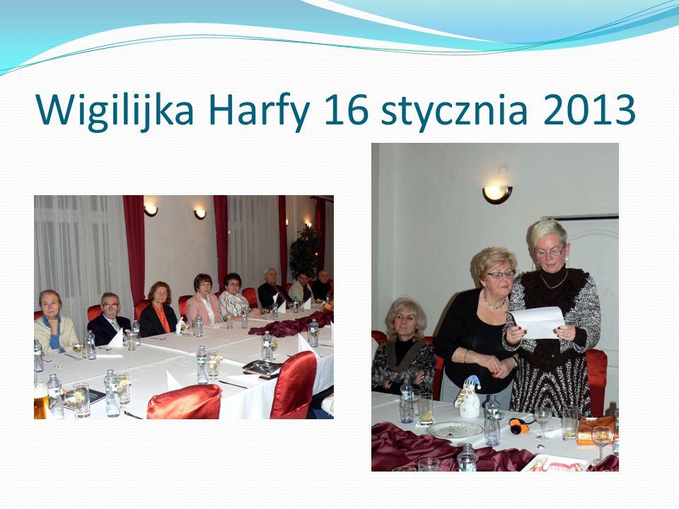 Wigilijka Harfy 16 stycznia 2013