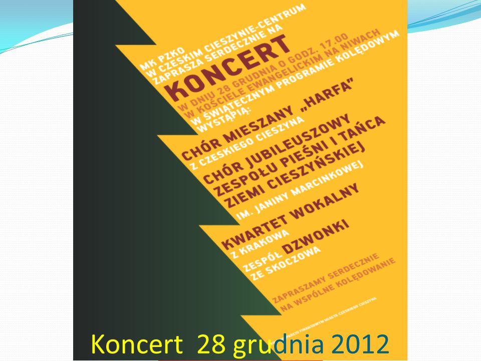 MK PZKO Cz.Cieszyn-Centrum Koncert 28 grudnia 2012