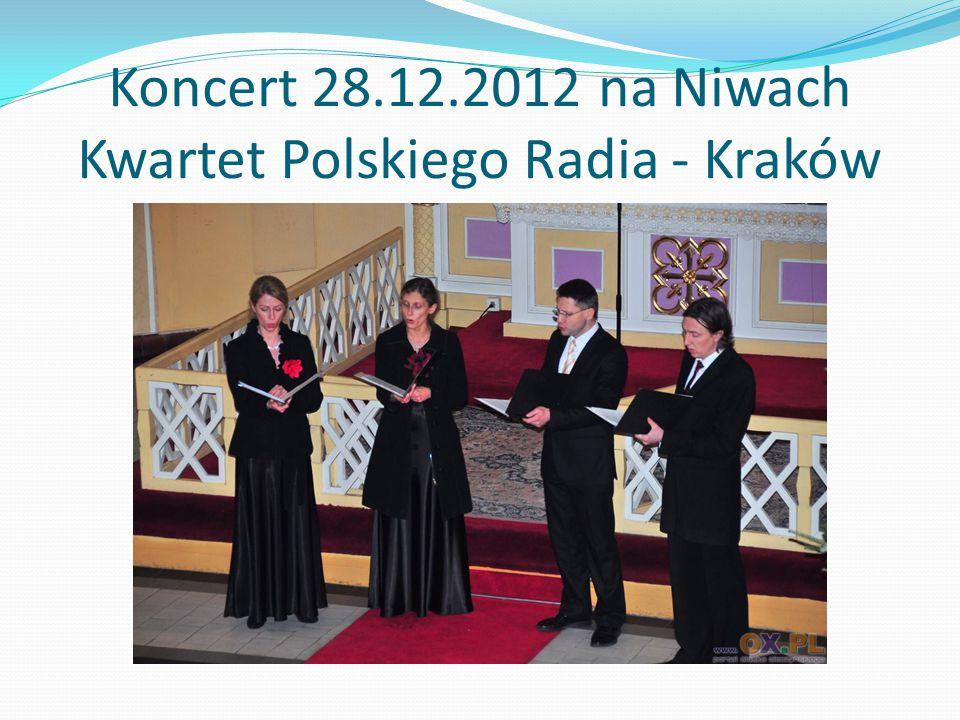 Koncert 28.12.2012 na Niwach Kwartet Polskiego Radia - Kraków