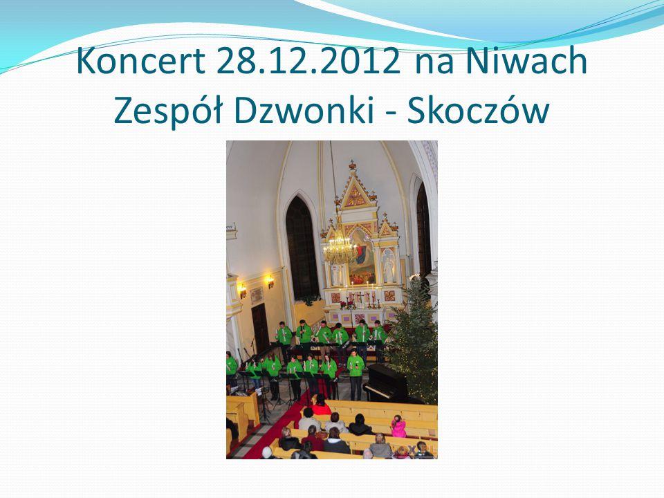 Koncert 28.12.2012 na Niwach Zespół Dzwonki - Skoczów