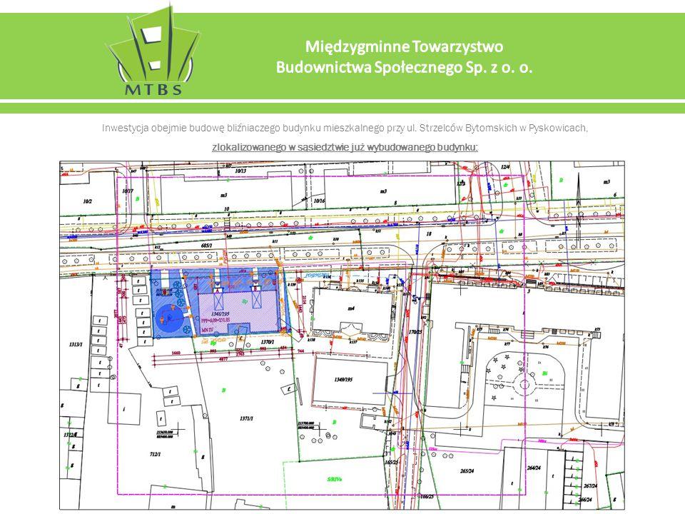 Inwestycja obejmie budowę bliźniaczego budynku mieszkalnego przy ul.
