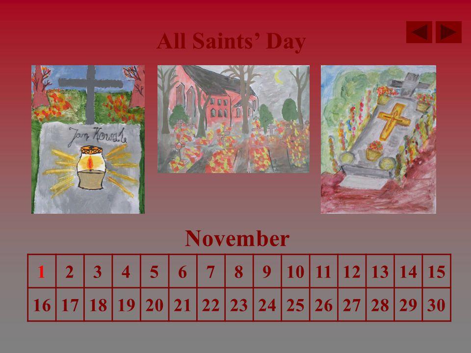 Saint Nicolas' Day December 123456789101112131415 16171819202122232425262728293031