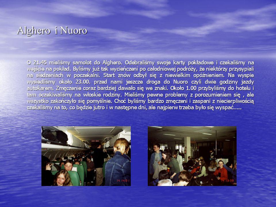 Oliena – dolina Lanaitto 18 kwietnia 2002 wybraliśmy się w pierwszą całodniowa wycieczkę na Sardynii.
