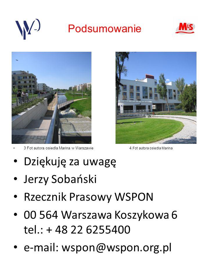 3 Fot autora osiedla Marina w Warszawie 4.