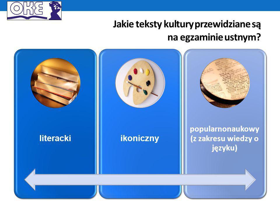 Egzamin ustny – przykład zadania (1 )