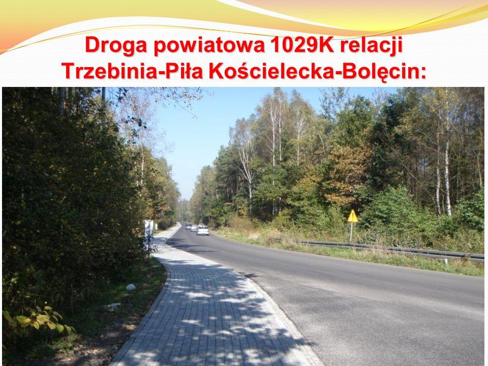 Droga powiatowa 1029K relacji Trzebinia-Piła Kościelecka-Bolęcin: