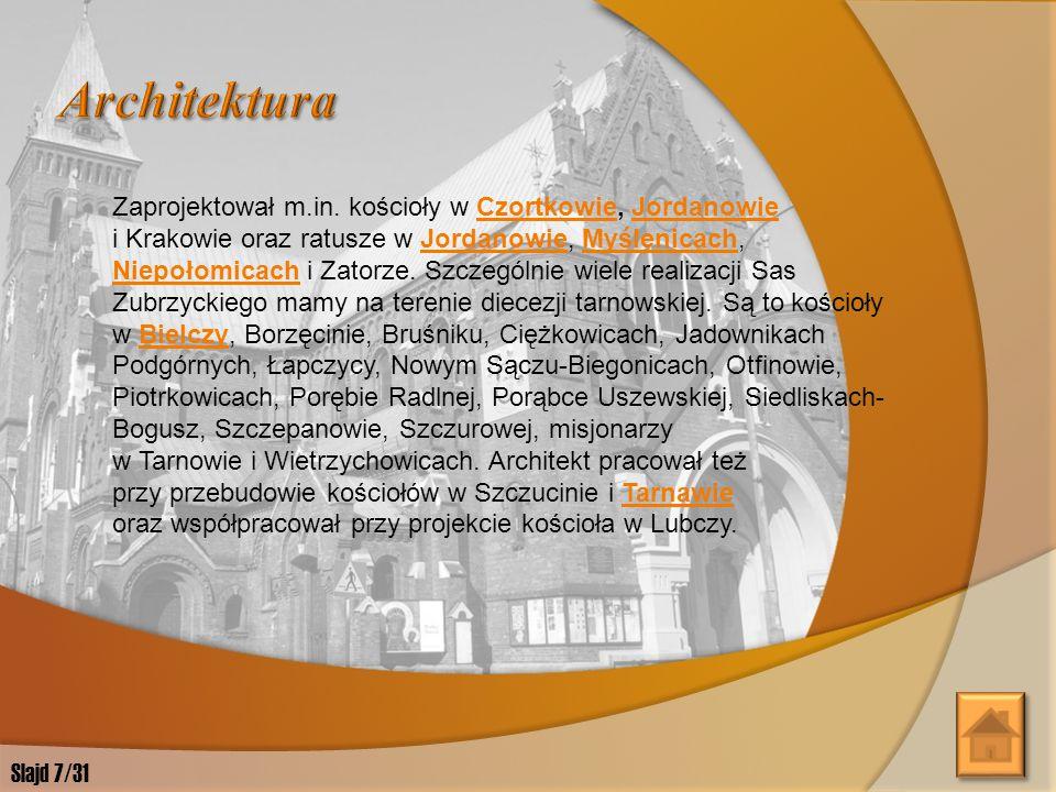 Jan Sas Zubrzycki prowadził ożywioną działalność badawczą, teoretyczną i publicystyczną.
