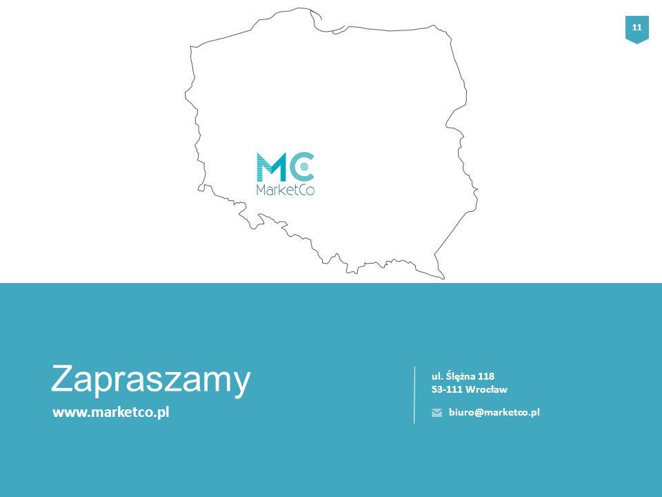 www.marketco.pl Zapraszamy ul. Ślężna 118 53-111 Wrocław 11 biuro@marketco.pl