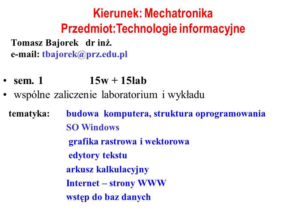 Komputer - elektroniczny automat cyfrowy Funkcje: - zapamiętywanie informacji - przetwarzanie informacji Automat uniwersalny (nie specjalistyczny) - wykonuje przetwarzanie różnego rodzaju informacji - gromadzi informacje różnego rodzaju