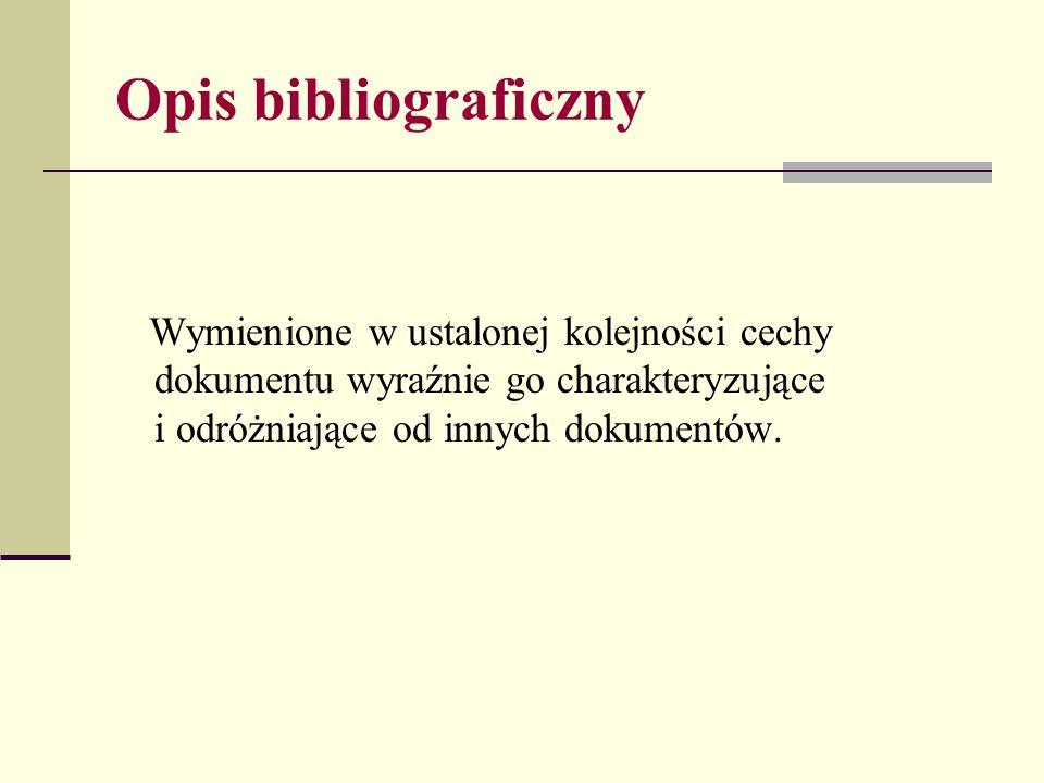 Opis rozprawy Wzór Nazwisko i inicjał imienia autora rozprawy., Tytuł rozprawy, [w:] Tytuł dzieła.