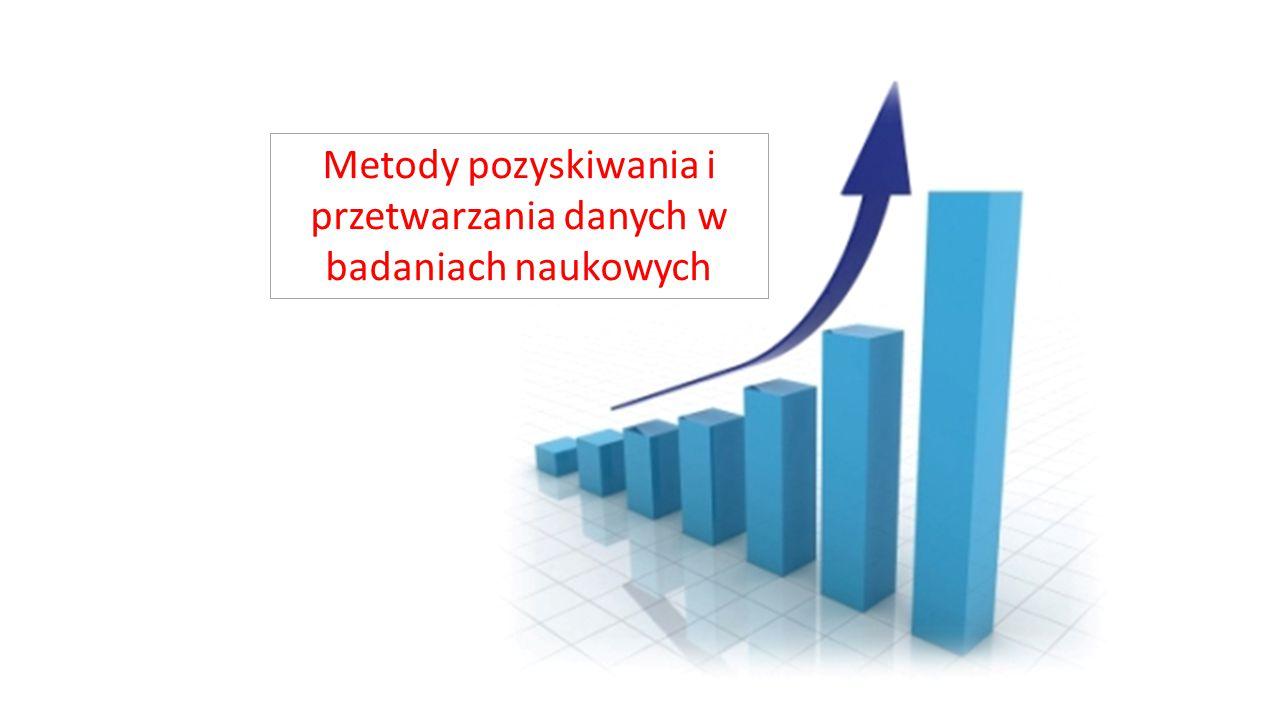 Mierniki statystyczne Miary położenia Średnia geometryczna Stosuje się ją, gdy badamy dane w postaci logarytmów z wyników.
