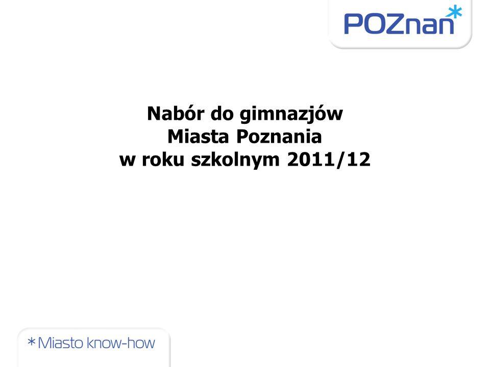 Uaktualnianie danych o szkole w elektronicznym informatorze gimnazjalnym: 17 – 21 stycznia 2011r.