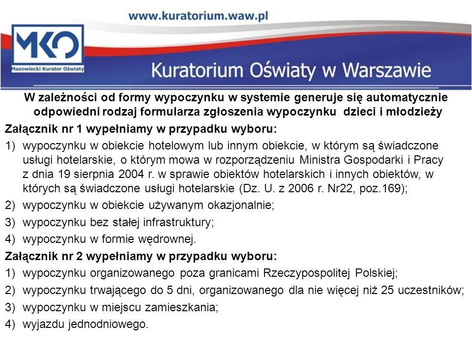 Wydział Zwiększania Szans Edukacyjnych Kuratorium Oświaty w Warszawie