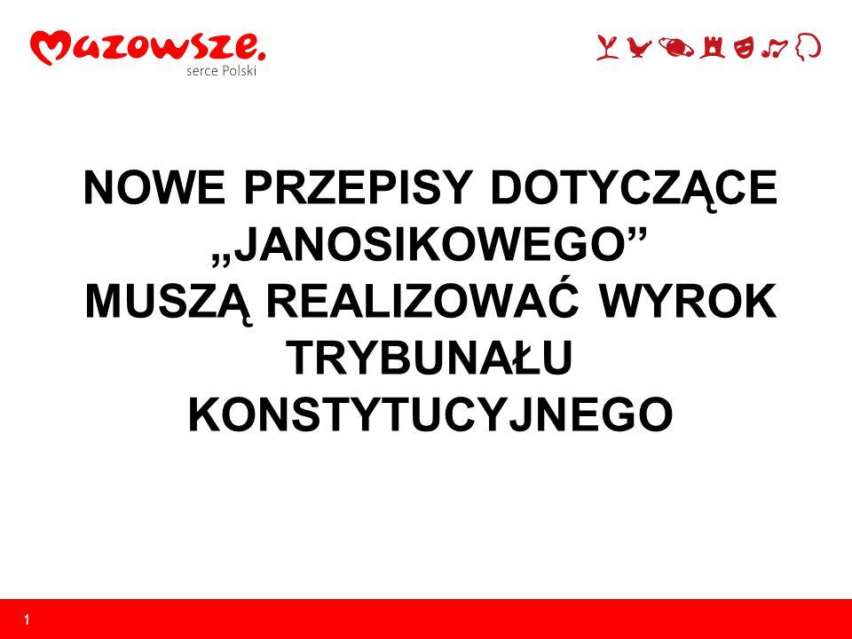 12 Teraz Mazowszu jako najbogatszemu regionowi każe się oddawać lwią część dochodów dla innych województw UWAGA.