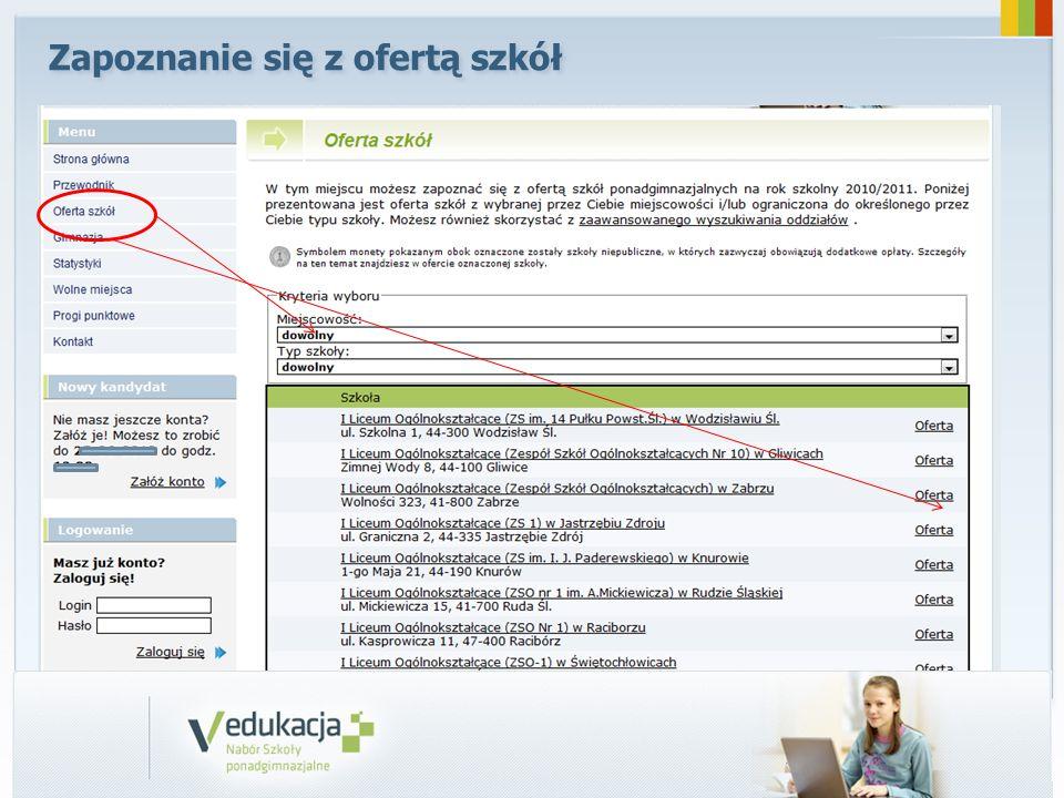 System publikuje rozdział miejsc w szkołach ponadgimnazjalnych 03.07.2014 r.
