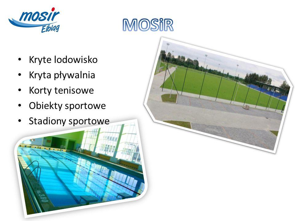 Kryte lodowisko Kryta pływalnia Korty tenisowe Obiekty sportowe Stadiony sportowe