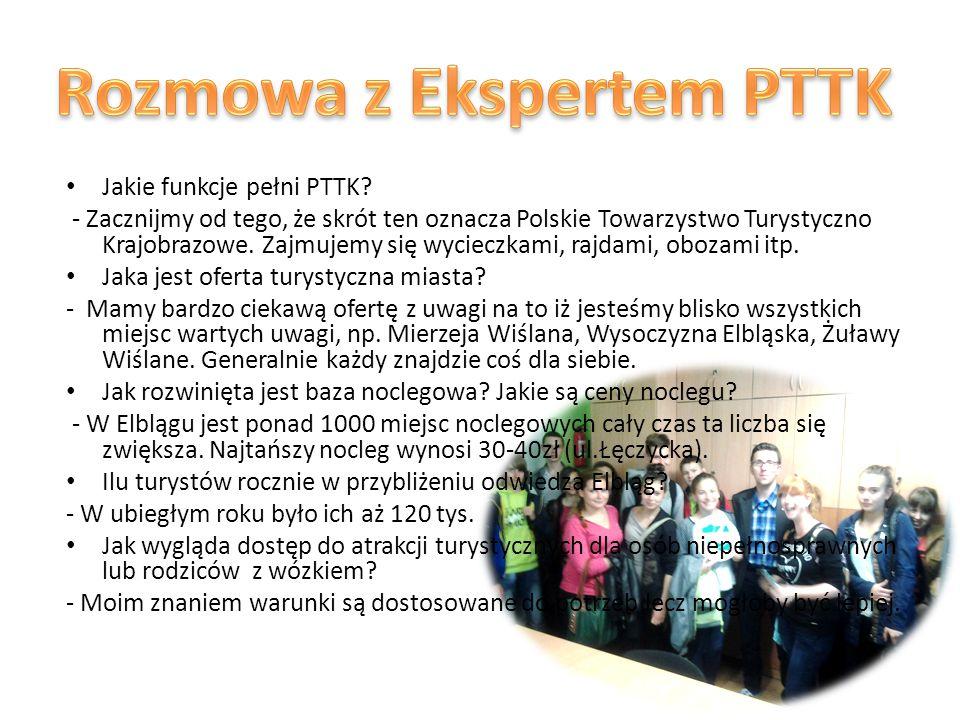Jakie funkcje pełni PTTK.