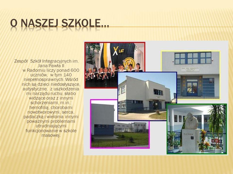 Chociaż ZSI jest jedną z pierwszych tego typu placówek w Radomiu i w Polsce a także, ma wieloletnie doświadczenie w pracy dydaktyczno-terapeutycznej, to jednak warunki szkolne dla dzieci z najmłodszych klas, dalekie są od wymarzonych.