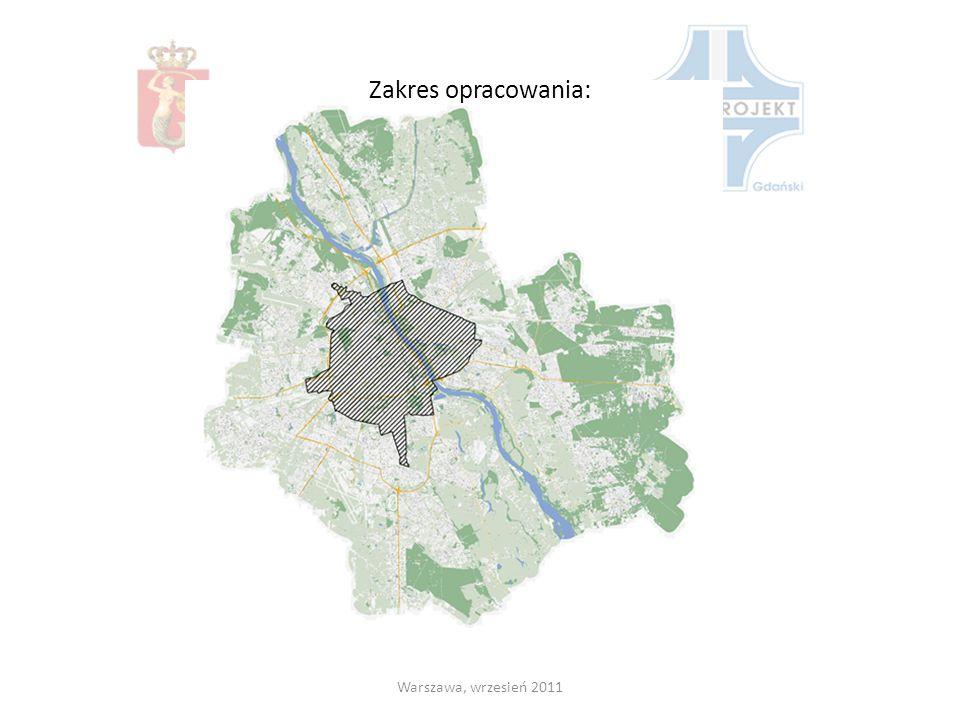 Zakres opracowania: Warszawa, wrzesień 2011