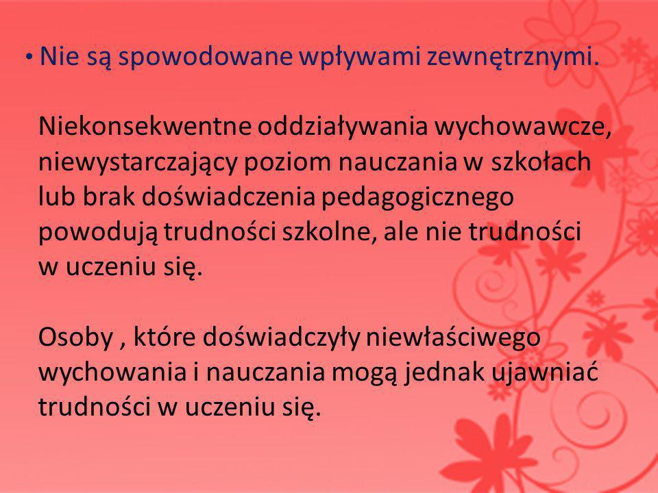 FORMY POMOCY DZIECIOM Z ZABURZENIAMI W ROZWOJU ROZPORZĄDZENIE MINISTRA EDUKACJI NARODOWEJ z dnia 17 listopada 2010 r.