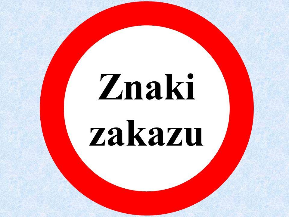 Ustąp pierwszeństwa przejazdu ! Nierówna drogaPróg zwalniającyRuchomy mostSkrzyżowanie drógNiebezpieczny zakręt w prawoNiebezpieczny zakręt w lewo Skr