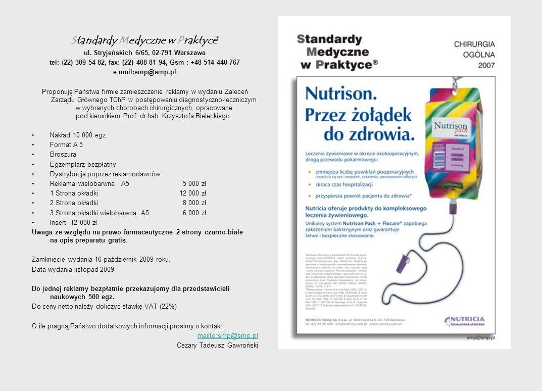 Standardy Medyczne w Praktyce® ul.