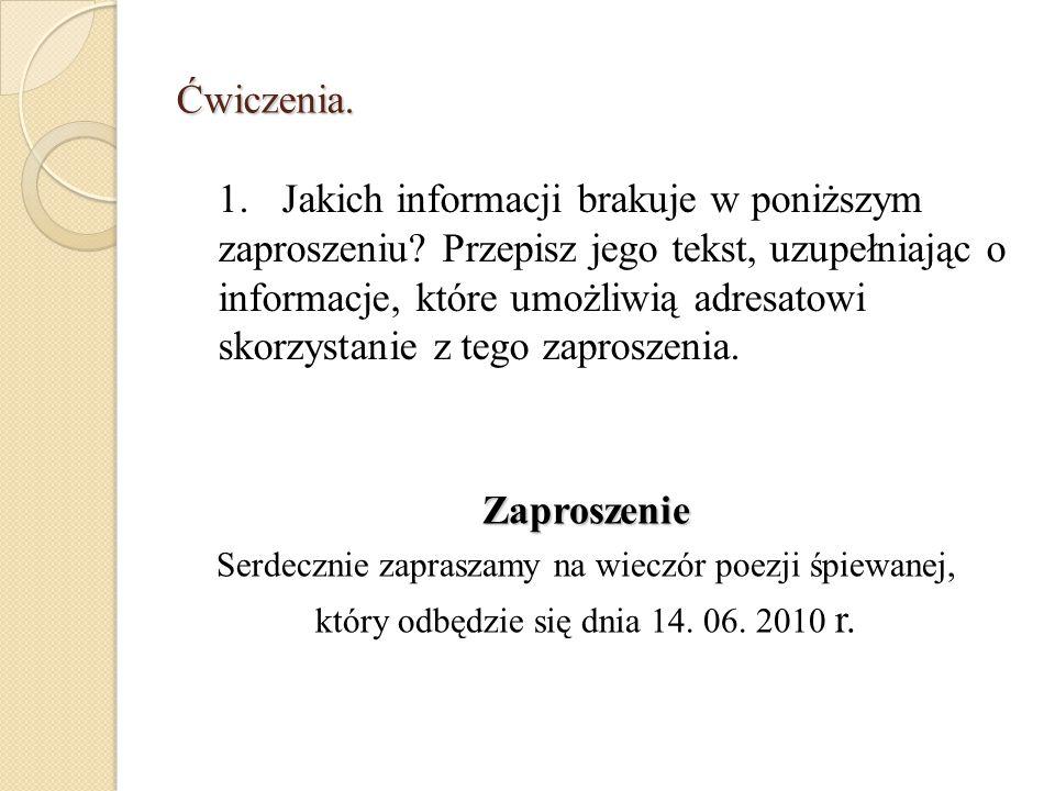 Zaproszenie Uprzejmie zapraszamy Panią Pamelę Marzec na wieczór poezji patriotycznej pt.