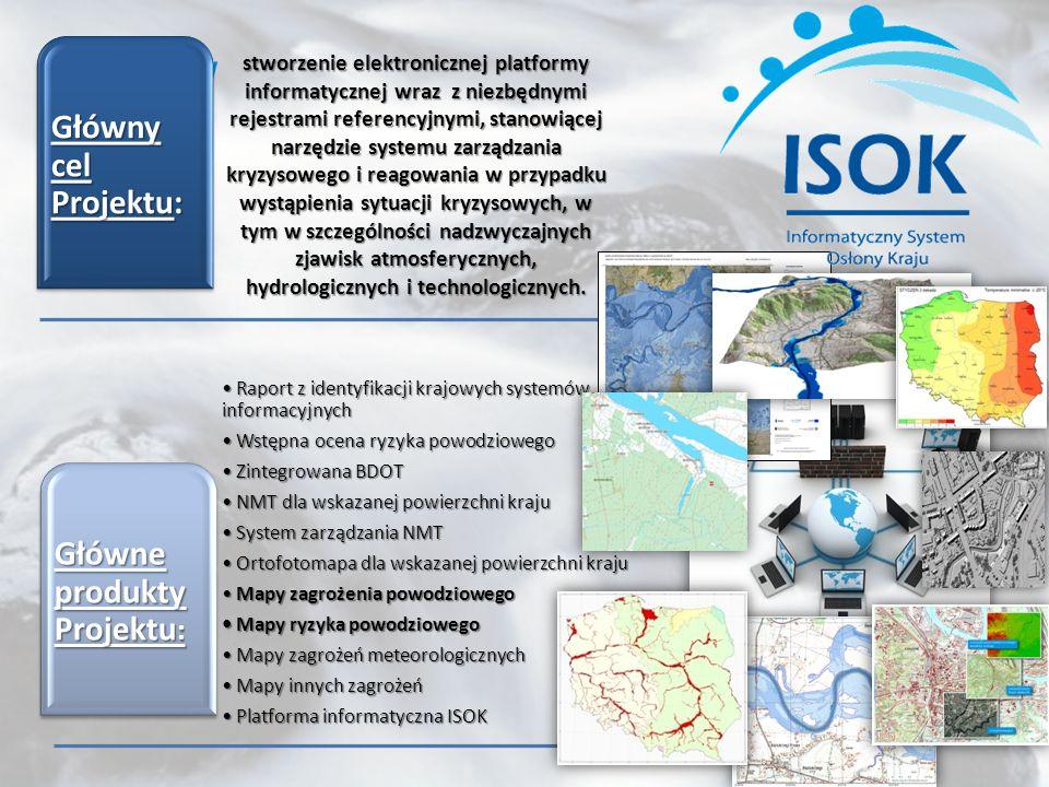 stworzenie elektronicznej platformy informatycznej wraz z niezbędnymi rejestrami referencyjnymi, stanowiącej narzędzie systemu zarządzania kryzysowego i reagowania w przypadku wystąpienia sytuacji kryzysowych, w tym w szczególności nadzwyczajnych zjawisk atmosferycznych, hydrologicznych i technologicznych.