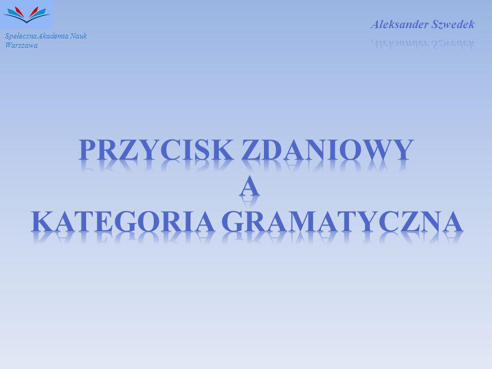 Spełeczna Akademia Nauk Warszawa