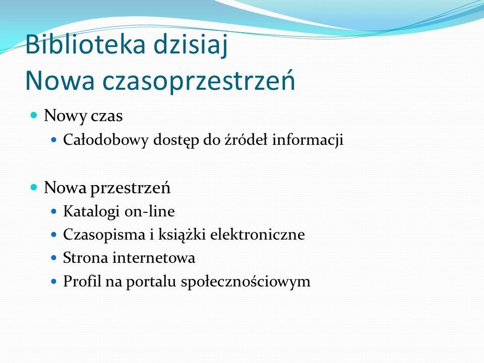 Czas i przestrzeń biblioteki pedagogicznej Strona internetowa biblioteki od 1999 r.