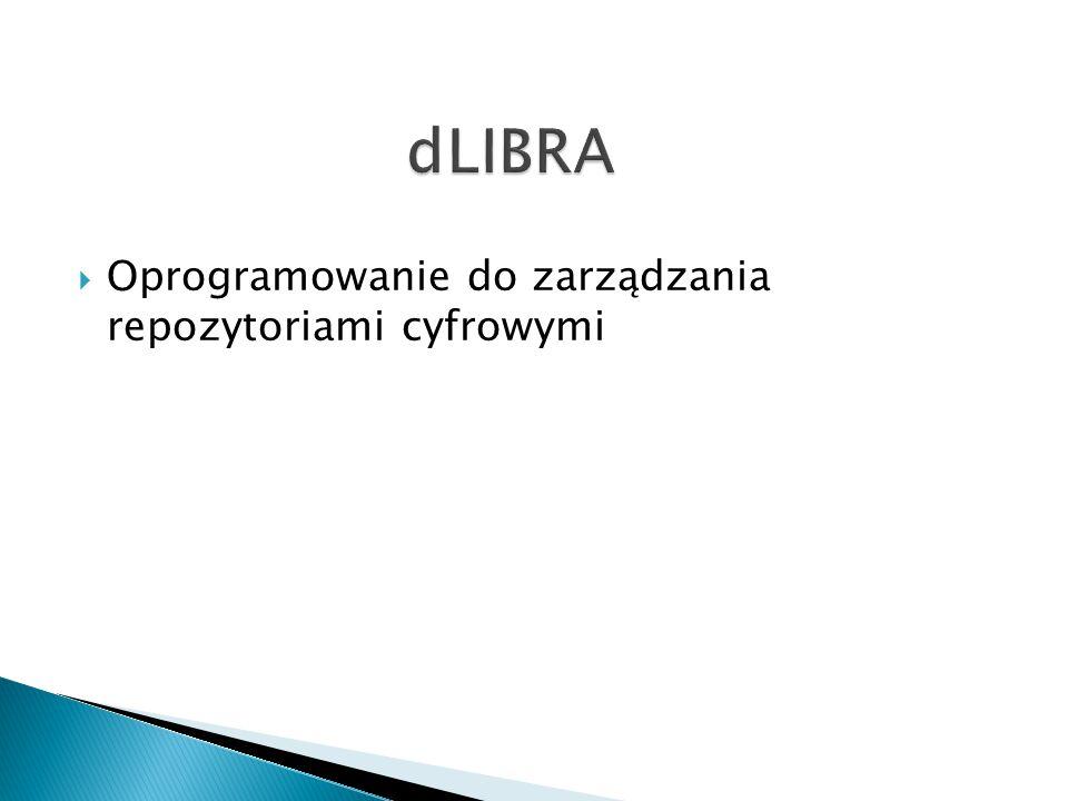  Oprogramowanie do zarządzania repozytoriami cyfrowymi