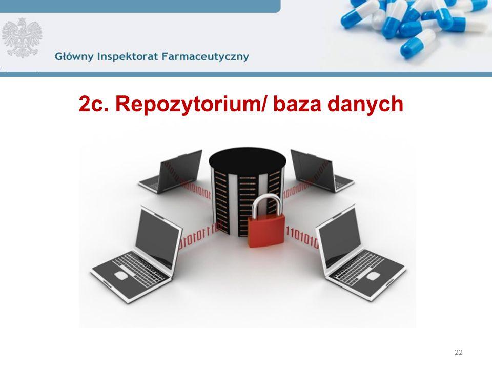 22 2c. Repozytorium/ baza danych